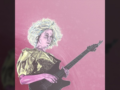 St Vincent Portrait