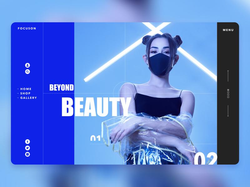 Face Mask covid banner shop design web ui  ux design dribbble