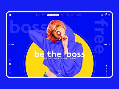 Shop concept summer dribbble web branding clothing shop instagram behance ui  ux design ux ui