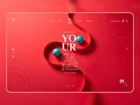 Your Game work illustration branding fashion instagram banner shop design web ui  ux design dribbble