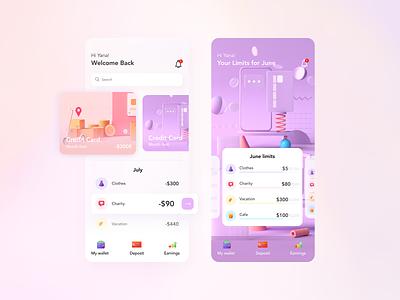 Bank app dashboard bank app instagram banner shop design web ui  ux design dribbble