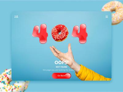 404 Page not found 404 error 404 instagram shot banner illustration design web ui  ux design dribbble