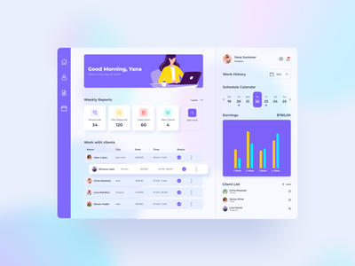 Dashboard illustration ui dashboard design dashboad design web ui  ux design dribbble