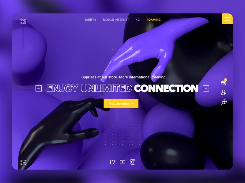 mobile internet instagram style banner shot design shop web ui  ux design dribbble