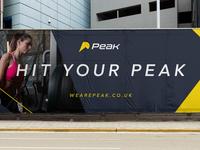 Peak Fitness Advertising