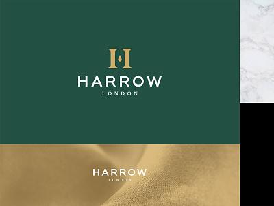 Luxury Menswear Fashion Brand - Harrow London menswear logo menswear brand tailor logo tailor suit premium luxury branding london h logo h letter fashion logos gold foil luxury brand menswear fashion brand fashion logo fashion clothing label clothing brand branding