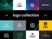 Logofolio - Logo Collection 2020 branding logo monogram brand icon logo design identity branding and identity logo design branding logo designer logo collection logodesign behance logofolio