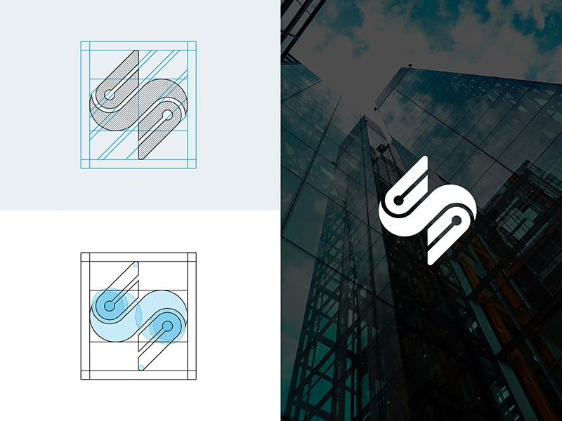 Smart structure logo process