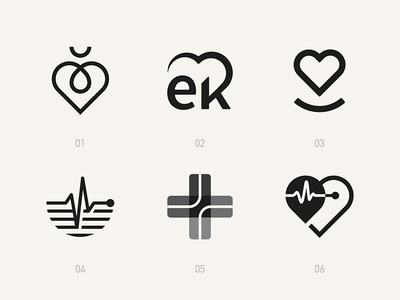 A few cardiology symbols that didn't quite make the cut.