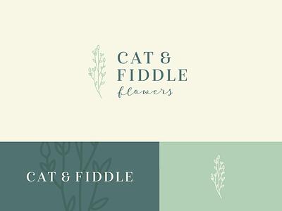 💐🌷🌼 flowershop florist flowers logo design branding identity logo