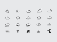 Lovely Weather App Weather Icons