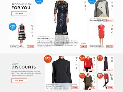 ShopRunner web redesign ui shopping responsive web e-commerce shoprunner