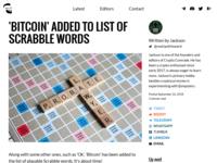 CryptoComrade.org Blog Design & Development