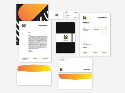 URBANKNITS- Corporate Identity Design