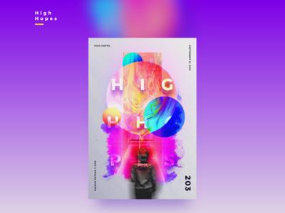 FLOYD | HIGH HOPES | Illustrative Poster