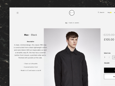 Ecommerce layouts wip whitespace grid minimal typography simple clean scroll fashion shop ui e-commerce ecommerce