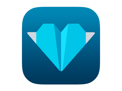 Kicksend for iOS 7 (app icon)