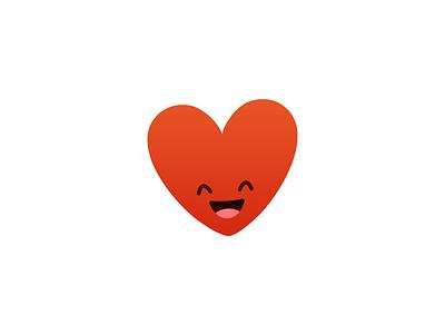 Hugo kicksend hugo heart mascot