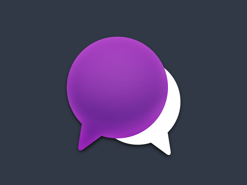 HipChat Replacement Icons by Wells Riley | Dribbble | Dribbble
