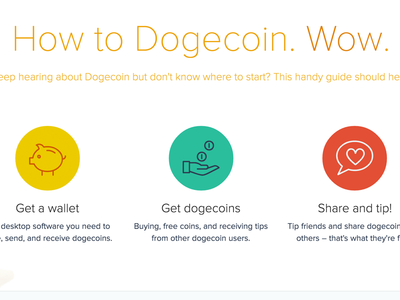 So Dogecoin. Very Dribbble. Amaze.