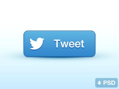 Share Buttons (free psd) share buttons facebook twitter free psd