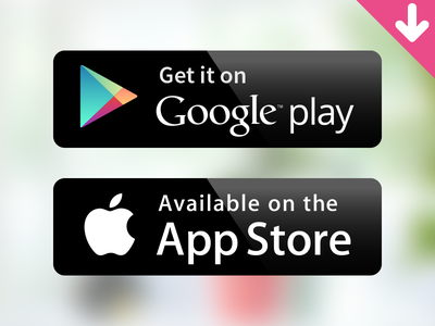 [Vector Freebie] Google Play badge google play app store android