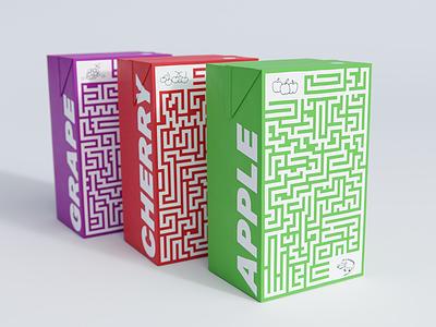 Juice Box Packaging package kids packaging box juice box