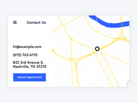 Daily UI Day 029 — Map