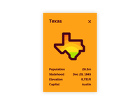 Daily UI Day 045 — Info Card