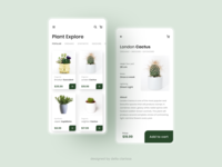 Eve's Garden UI - Plant Online Shop Platform ui designs online store shopping app e-commerce garden plants user interface design user interfaces user interface ui design plant ux app uiuxdesign challenge uidesign ui design