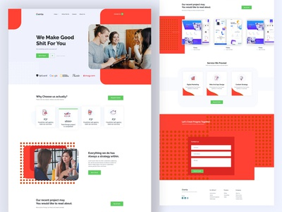 Portfolio Web Landing Page