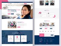Insurance Website Design