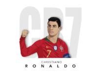 Christiano Ronaldo Potrait
