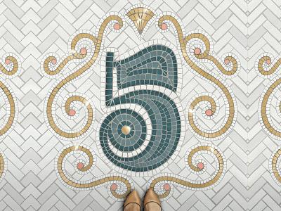 36 Days of Type – 5 36daysoftype procreate custom type type lettering typography