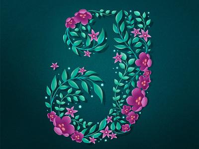 36 Days of Type – J procreate 36daysoftype hand drawn custom type type lettering typography