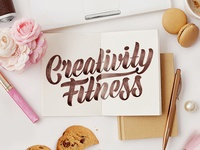 Creativity Fitness – Logotype Skech