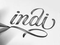 Indi Logo Sketch