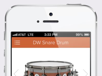 iOS Music Store Shopping App
