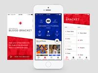 iOS Bracket App ios iphone