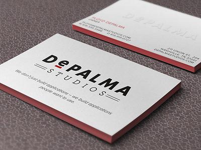 Letterpress Business Cards branding business card letterpress logo