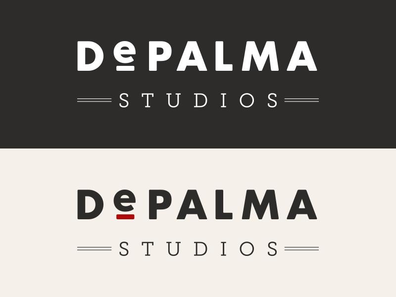 DePalma Logo logo branding