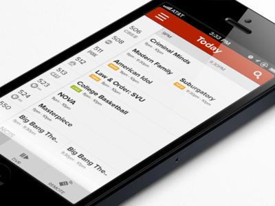TV Guide/DVR/Remote App