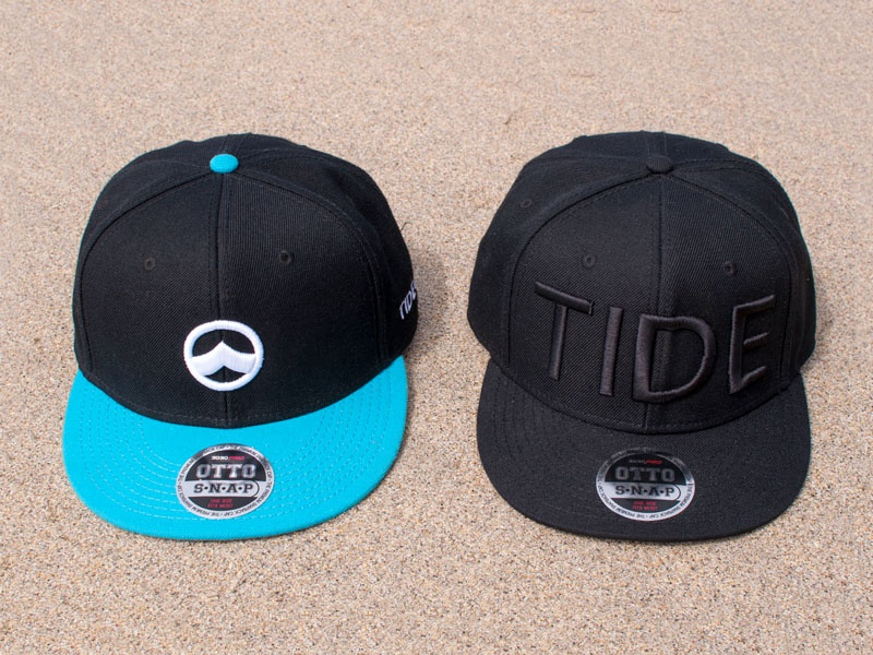 Tide Caps clothing surf accessory gear headware snap otto 3d stich hat cap tide