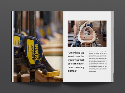 Tide X Otter Book workshop surfboard process typography design print book editorial otter surf tide
