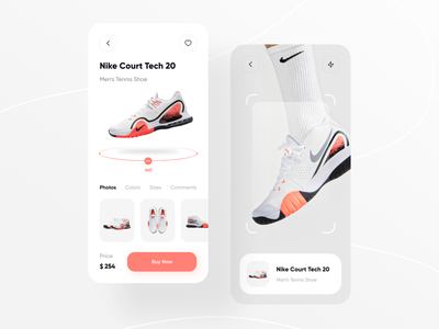Nike Shop market shop e-commerce ecommerce fashion shoes nike shoe app branding ux typography icon flat minimal design