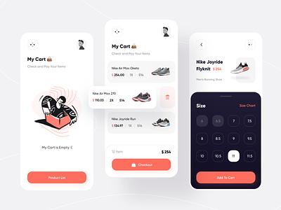 Nipo Shop | UI Kit style adidas puma e-commerce ecommerce fashion shoes nike shoe ux app illustrator ui icon vector minimal flat illustration design