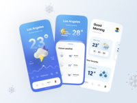 Weatherly Kit P2 rainy cloudy wind cloud sunny sun time moon weather icon weather app weather app illustrator ui vector icon minimal flat illustration design
