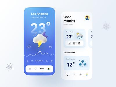 Weatherly Kit P2 rainy cloudy wind cloud sunny sun time moon weather icon weather app weather app illustrator ui vector icon minimal flat illustration design