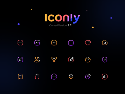 Freebie: Iconly Curved user filter service voice delete edit illustration illustrator ui minimal icons design seticon iconset icon design icons pack icons set icon set iconography icons icon
