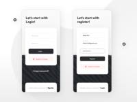 signup and login